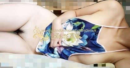Nude body to body massage